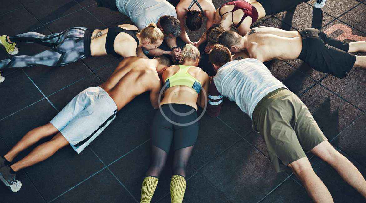 The football style body workout & diet